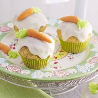 Marzipan Cupcakes.