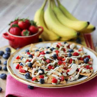 Vegan Cheesecake Dessert Nachos | Dairy Free & Refined Sugar Free.