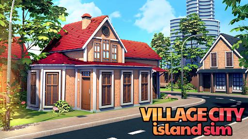 Village City - Island Sim: Build Virtual Town Game  screenshots 1