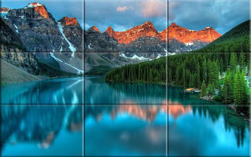 Puzzle - Beautiful lakes 1.19 screenshots 2
