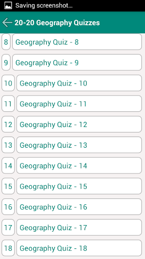 20-20 Geography Quiz