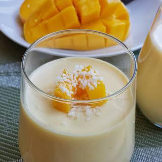 Mango Pudding .