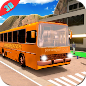 Monster Bus Simulator : Driving Off road Coach 3D