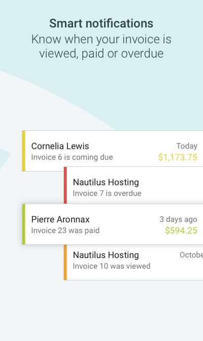 Invoice by Wave- screenshot