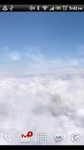 Blue Skies Live Wallpaper  screenshot 2