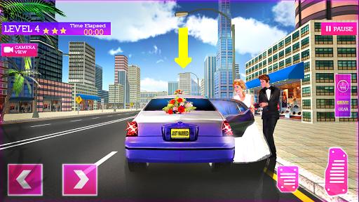 Télécharger Gratuit Service de limousine VIP - simulateur de mariage APK MOD (Astuce) screenshots 1