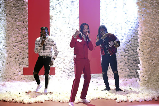 Offset, Quavos, and Takeoff of Migos  are either the Beatles of their generation, or particularly canny music packagers.