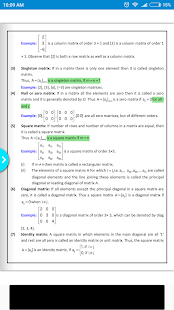 Maths Matrices Formula Book - náhled