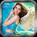 Sky Angel Live Wallpaper icon