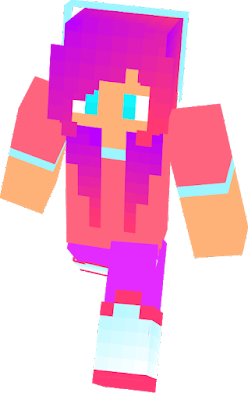 Today i made this skin. This is the cutest skin you ever seen right?