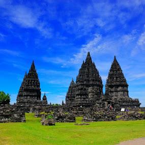 Prambanan Temple by Taufiqurrahman Setiawan - Landscapes Travel