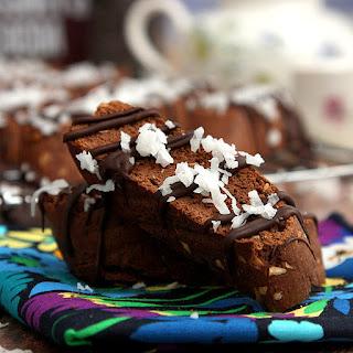 Mocha Coconut Biscotti