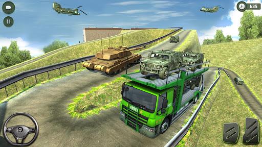 US Army Transporter: Truck Simulator Driving Games  captures d'écran 2