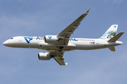 Air Austral's Airbus A220s Stop In Toulouse En Route To Reunion
