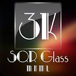 3K SQR Glass - MNML Icon Pack v1.2.4