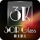 3K SQR Glass - MNML Icon Pack v1.2.4