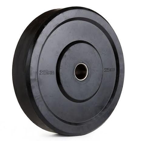 NF Svarta Bumpervikter - 15kg
