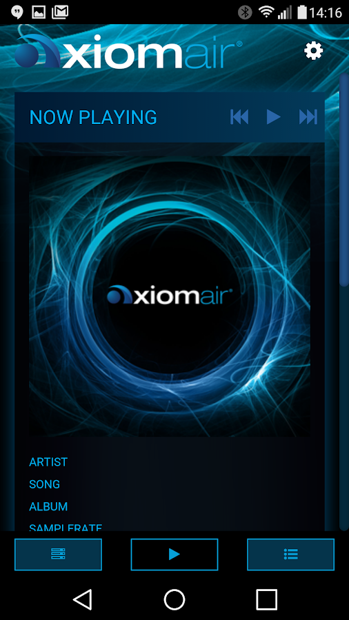 AxiomAir- screenshot