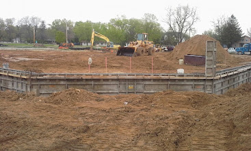 Photo: Backstop Foundation Forms 05-19-2014