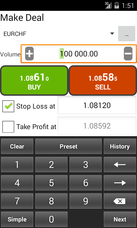 IFC Markets Trading Terminal- screenshot