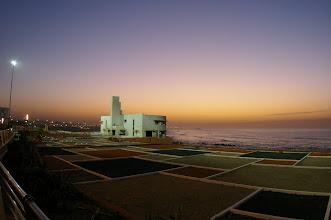 Photo: La corniche en fin d'AM juste après le couché du soleil, il se couche à 17h15 environ