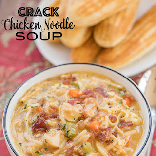 Crack Chicken Noodle Soup.