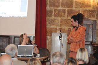 Photo: Catherine Daoud et Robin Paquin implanté en 2007