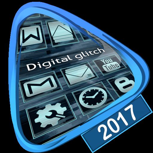 Digital glitch Launcher 2017