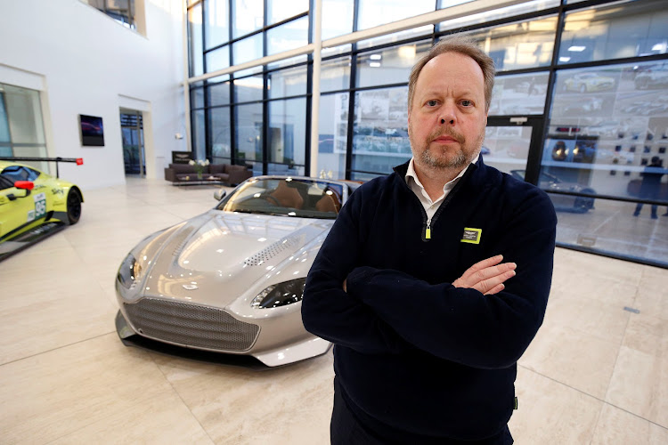 Andy Palmer, CEO of Aston Martin at the firm's world headquarters in Gaydon, Britain. Picture: REUTERS