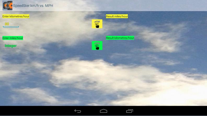 km h vs mph speedster android apps on google play. Black Bedroom Furniture Sets. Home Design Ideas
