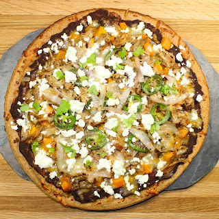 Pulled Pork Mexican Pizza.