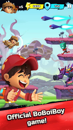 BoBoiBoy Galaxy Run: Fight Aliens to Defend Earth! 1.0.5d screenshots 1