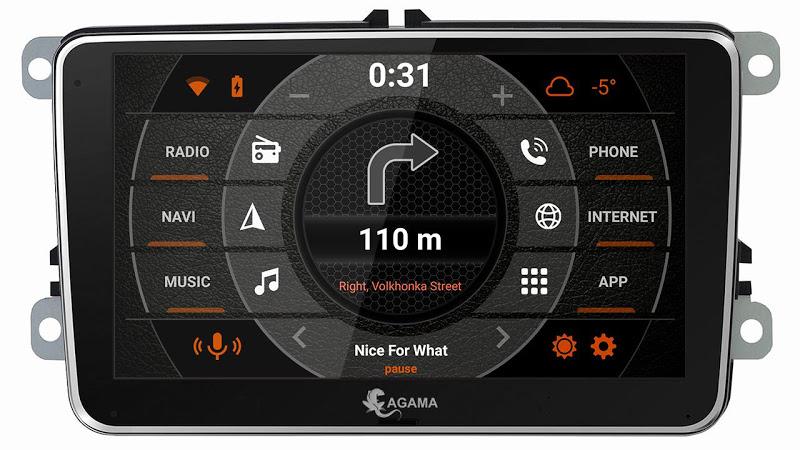 Car Launcher AGAMA Screenshot 3