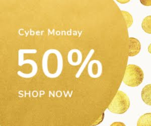 Cyber Monday Big Sale - Medium Rectangle Ad Template