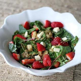 Strawberry Quinoa Salad with Brie Recipe