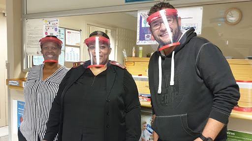 Fifteen 3D surgical face shields will be delivered to Netcare911.