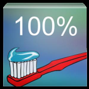 100% čisté zuby