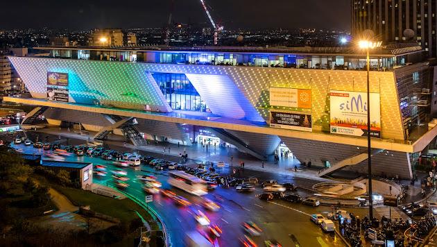 Le palais des congr s de paris about google - 2 place de la porte maillot 75017 paris ...