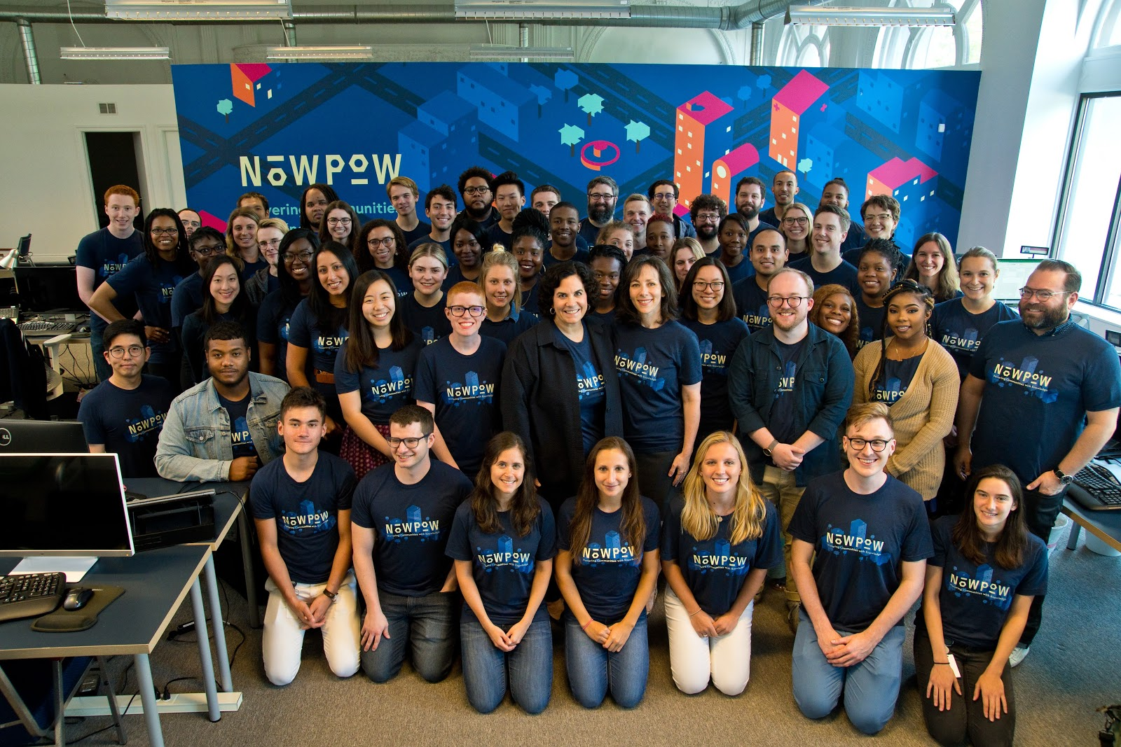 NowPow team members.