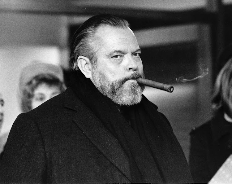 Actor, producer, writer and director, Orson Welles.