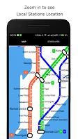 screenshot of Mumbai Local Train Map
