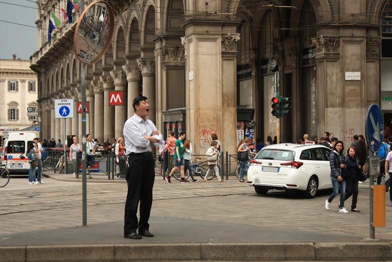 l'urlo a Milano  di Gianchi