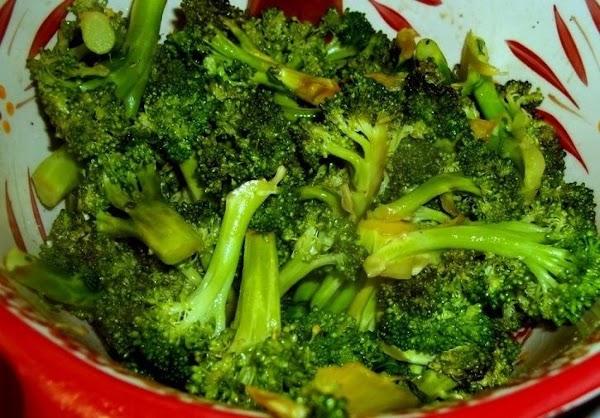 ~ Asian Inspired Broccoli ~ Recipe