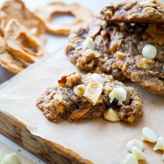 Apple Walnut Oatmeal Cookies.