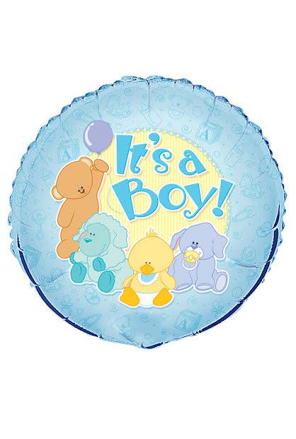 Folieballong, It´s a boy