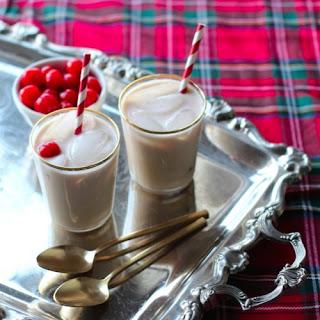 White Chocolate Cherry Cocktail