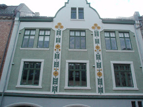 Photo: A typical Art Nouveau building in Alesund.