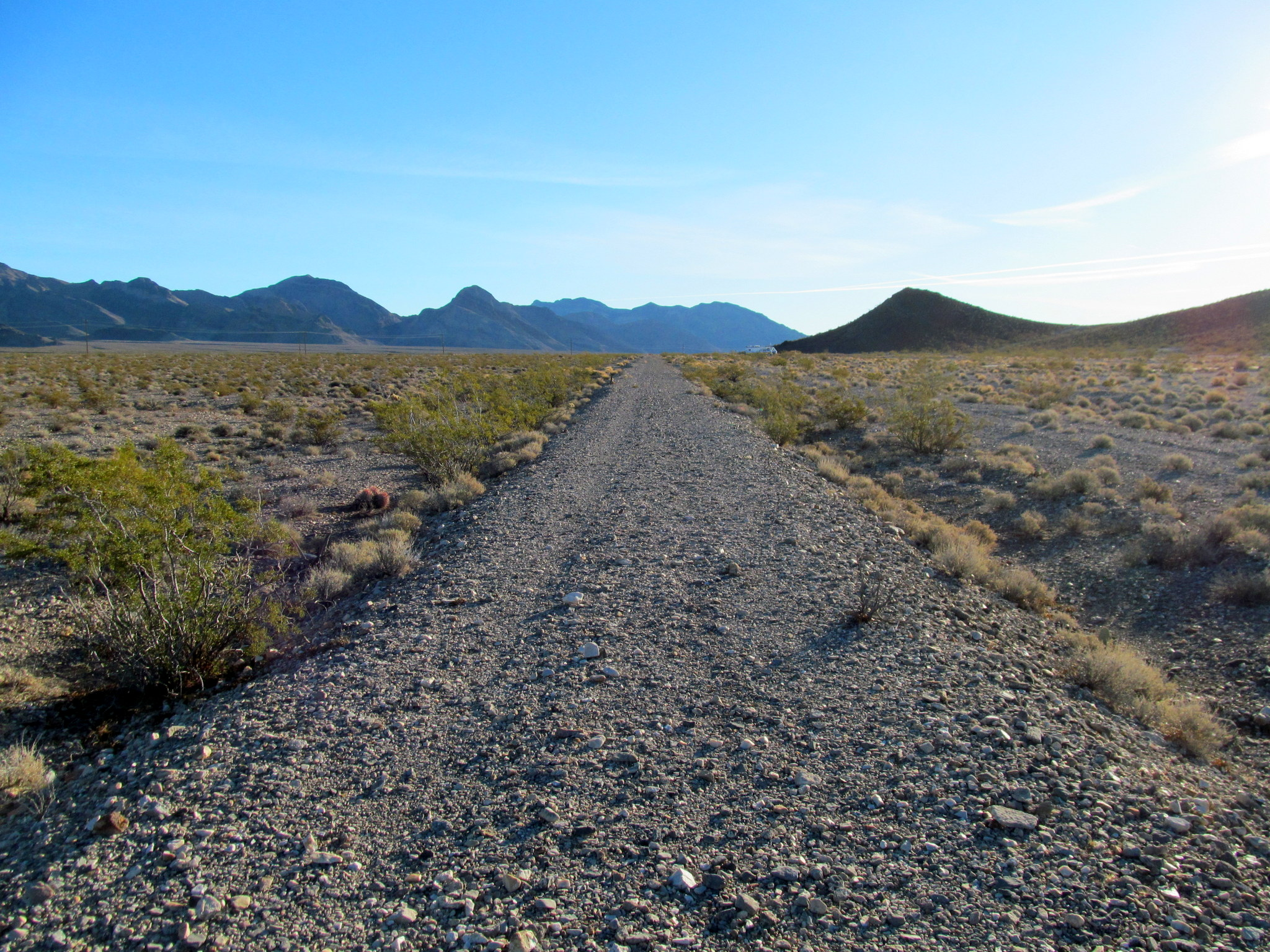 Photo: Death Valley Railroad grade