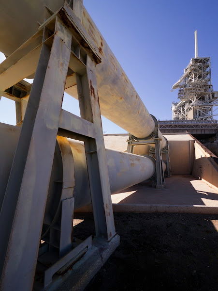 Photo: NASA Flame Trench. Taken with Panasonic GX1 and Lumix 7-14mm at 7mm (14mm equiv)