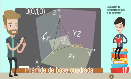 Coordenadas 3D Piru00e1mides 1.0.0 screenshots 8